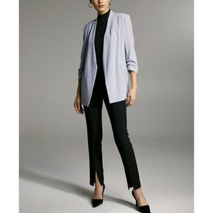 Aritzia Babaton Power Blazer Gray Blue Size 6